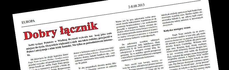 Gazeta e-Piastowka EagleTrans
